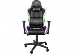 Trust GXT716 RIZZA RGB LED crna gejmerska stolica ( 23845 )