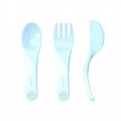 Twistshake pribor za hranjenje 6 m pastel blue ( TS78200 )