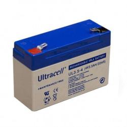 Ultracell žele akumulator Ultracell 3,5 Ah ( 4V/3,5-Ultracell )