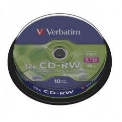 Verbatim 43480 CD-RW 700MB 8-12X ( 377B/Z )