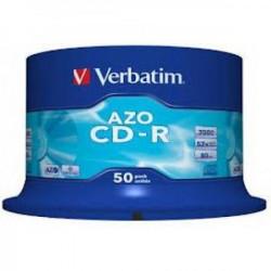 Verbatim CD-R 700MB AZO crystal 52X 43343 ( 74B50/Z )