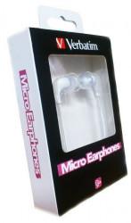 Verbatim Micro Ear slušalice bele ( SLUV49112 )