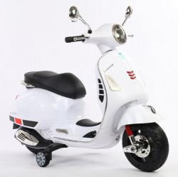 Vespa model 109 Motor za decu na akumulator - Beli
