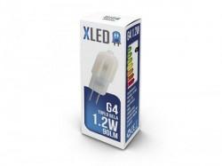 Xled G4 1.2W 90Lm, 70Ra, 3000K LED sijalica