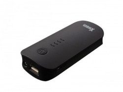Xwave Go 52 black power bank 5200mAh USB&USB micro kabl