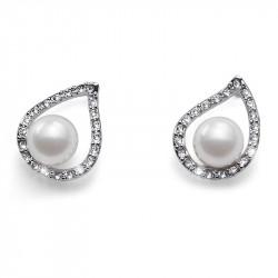 Ženske Oliver Weber Always Crystal mindjuše sa belim swarowski perlama