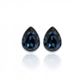 Ženske Victoria Cruz Essential Denim Blue Mindjuše Sa Swarovski Plavim Kristalom