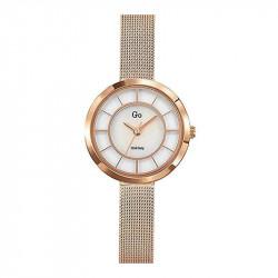 Ženski Girl Only Eblouis moi Roze Zlatni Elegantni ručni sat sa Roze Zlatnim Pancir Metalnim kaišem