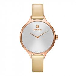 Ženski Hanowa Swiss Glossy Roze Zlatni Beli ručni sat
