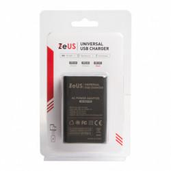 Zeus punjač strujni ZUS-Q19-5V/6,8A 3xUSB qualcomm 3.0 ( 025-0146 )