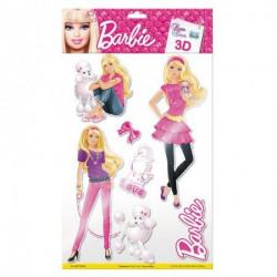 Zidne nalepnice Barbie ( 33-520505 )