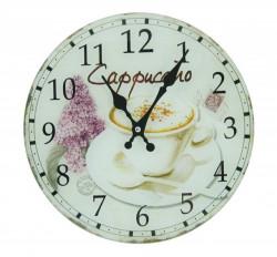 Zidni sat Cappuccino R30cm ( 203110 )