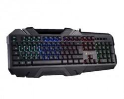A4 Tech B150N Bloody 5-Zone tastatura USB US crna