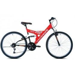 """Adria dakota 24""""18ht crno-oranž 16"""" bicikl ( 916247-16 )"""