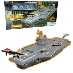 Aircraft carrier sa 4 metalne figure ( 63-212000 )