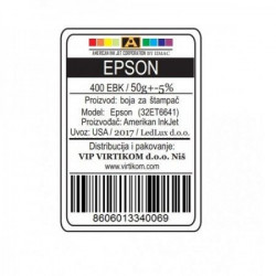 American Inkjet Epson CRNA 400EBK/T66410/T67310/T67410/ECO-TANKS (32ET6641/Z)