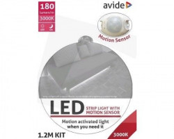 Avide ABLSBLBED-SEN-3W-S 3W 3000k LED traka sa senzorom pokreta