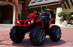 Bagi Quad model 107 na akumulator za decu - Crveni