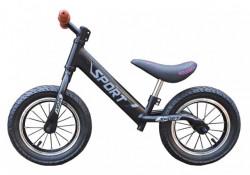 Balance Bike 751 Bicikl bez pedala za decu - Crni