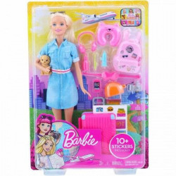 Barbie travel lutka u setu ( MAFWV25 )