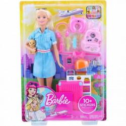 Barbie travel lutka u setu ( MAFWV25 )