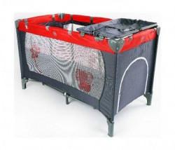 BBO Krevet torba 2 nivoa sivo-crveni ( 8069V2 )