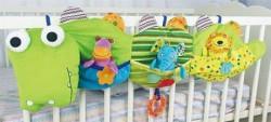 Biba Toys plišana ogradica za krevetac krokodil ( A014060 )