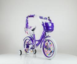 """Bicikl 12"""" model Miss Cat 708 - Ljubičasta"""