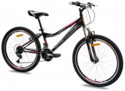 "Bicikl FOSTER 4.0 24""/18 crna/ciklama ( 650105 )"