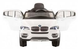 BMW X6 Beli - licencirani auto na akumulator  ( A 258-1 )