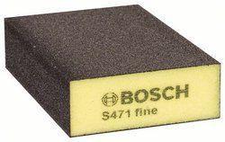Bosch sunđer za brušenje 68mm x 97mm x 27mm srednji ravni ( 2608608225 )