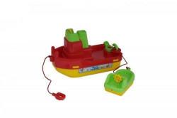 Brodić sa čamcem igračka za decu 283x153x178 ( 17/41227 )