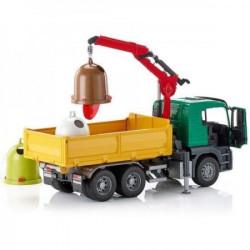 Bruder Kamion MAN TGS kiper sa kontejnerima ( 037536 )