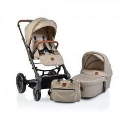Cangaroo Kolica icon set 2 in 1 sa tvrdom koprom beige 2019 ( CAN4997 )