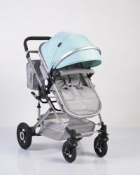 Cangaroo kolica za bebe ciara turquoise ( CAN5185 )