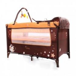 Cangaroo Prenosivi krevetac Sleepy 2nivoa orange 2018 ( CAN6617O )