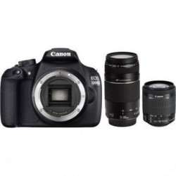 Canon EOS 1200D+EFS18-55 IS II+75-501 8st