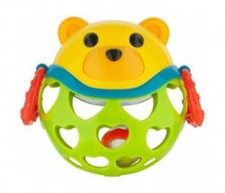 Canpol baby interaktivna igračka sa zvečkom - green bear ( 79/101_gre )