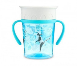 "Canpol baby solja 6m+ ""jungle"" - 400ml - turquoise ( 56/504_tur )"