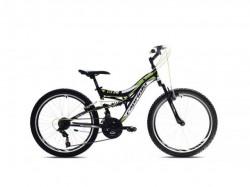 """Capriolo CTX 240 24""""18ht crno-zeleno 15"""" ( 917342-15 ) Bicikl"""