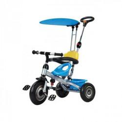 Capriolo tricikl sa drškom i suncobranom plavi ( 290088 )