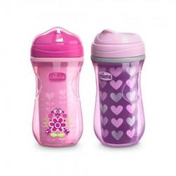 Chicco čaša 12m+, active cup, roze ( A049962 )