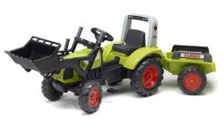 Claas Arion 430 Traktor na pedale sa prikolicom i kašikom 1040AM