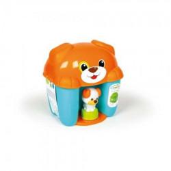 Clemmy dog puppy set plavi ( CL17294 )