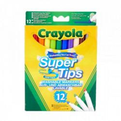Crayola markeri supertips 12 kom ( GA256252 )