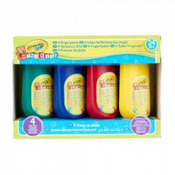 Crayola za prstice set 4 boje ( GA256455 )