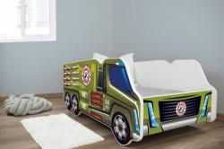 Dečiji krevet 140x70 truck MILITARY ( 7525 )