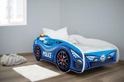 Dečiji krevet 140x70cm(trkački auto) POLICE ( 7428 )