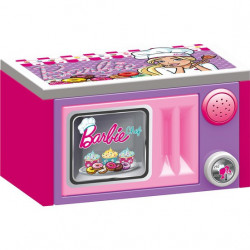 Dolu Mikrotalasna peć za decu sa setom igračaka - Barbie ( 016157 )