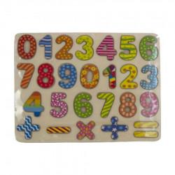 Drveni brojevi set ( BE108601 )